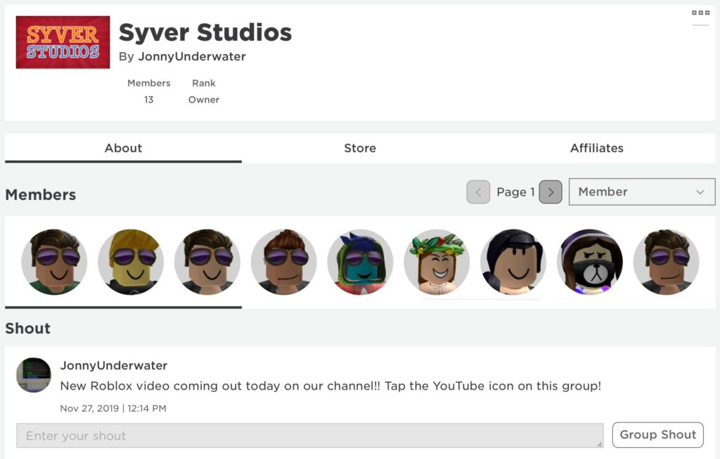 Youtube How To Join Roblox Groups Syver S Roblox Group Syver Studios
